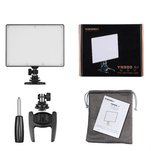 Image 5 - YONGNUO YN300 air YN 300 air yn 300 AIR Pro caméra LED lumière vidéo pour Canon Nikon + NP F550 batterie + chargeur