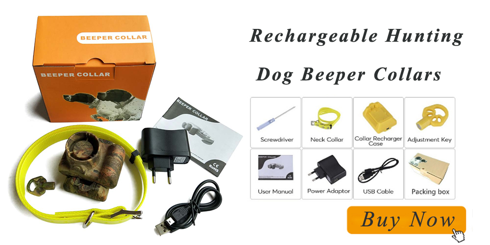 Dog Hunting Collar Built-in Beeper - HOLD