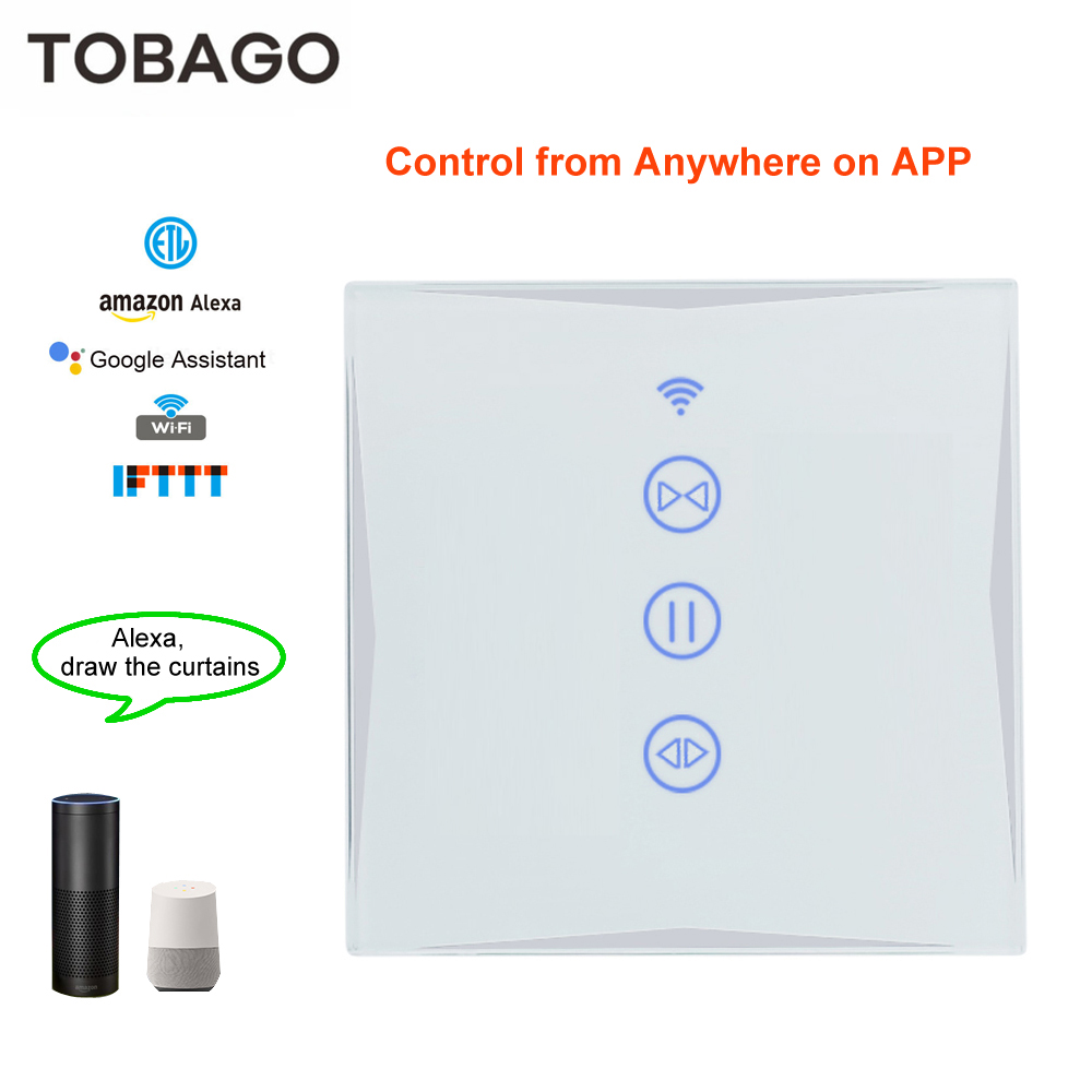 SUPER PROMO) Teekar WiFi Smart Curtain Switch Smart Life For