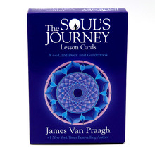 The Soul's Journey Lesson Cards: A 44-Card Deck and Guidebook Cards James Van Praagh Forgiveness Empathy Spiritual Growth empathy