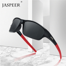JASPEER Polarized Fishing Sunglasses Men Goggles Sun glasses Outdoor Camping Hiking Driving Eyewear Sport UV400 Glasses kdeam driving sunglasses men polarized hiking sport sun glasses polarization sturdy 5 barrel hinges oculos kd900