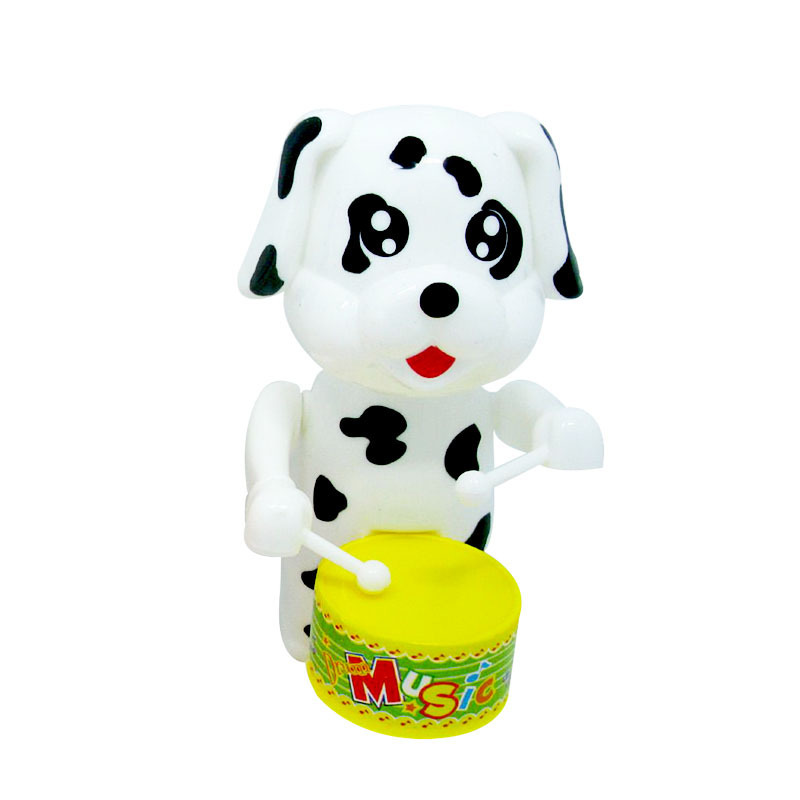 Puppy Wind-up Toy Winding Drum Kindergarten Gift Children'S Educational Kids Toy Hot Selling Booth Goods