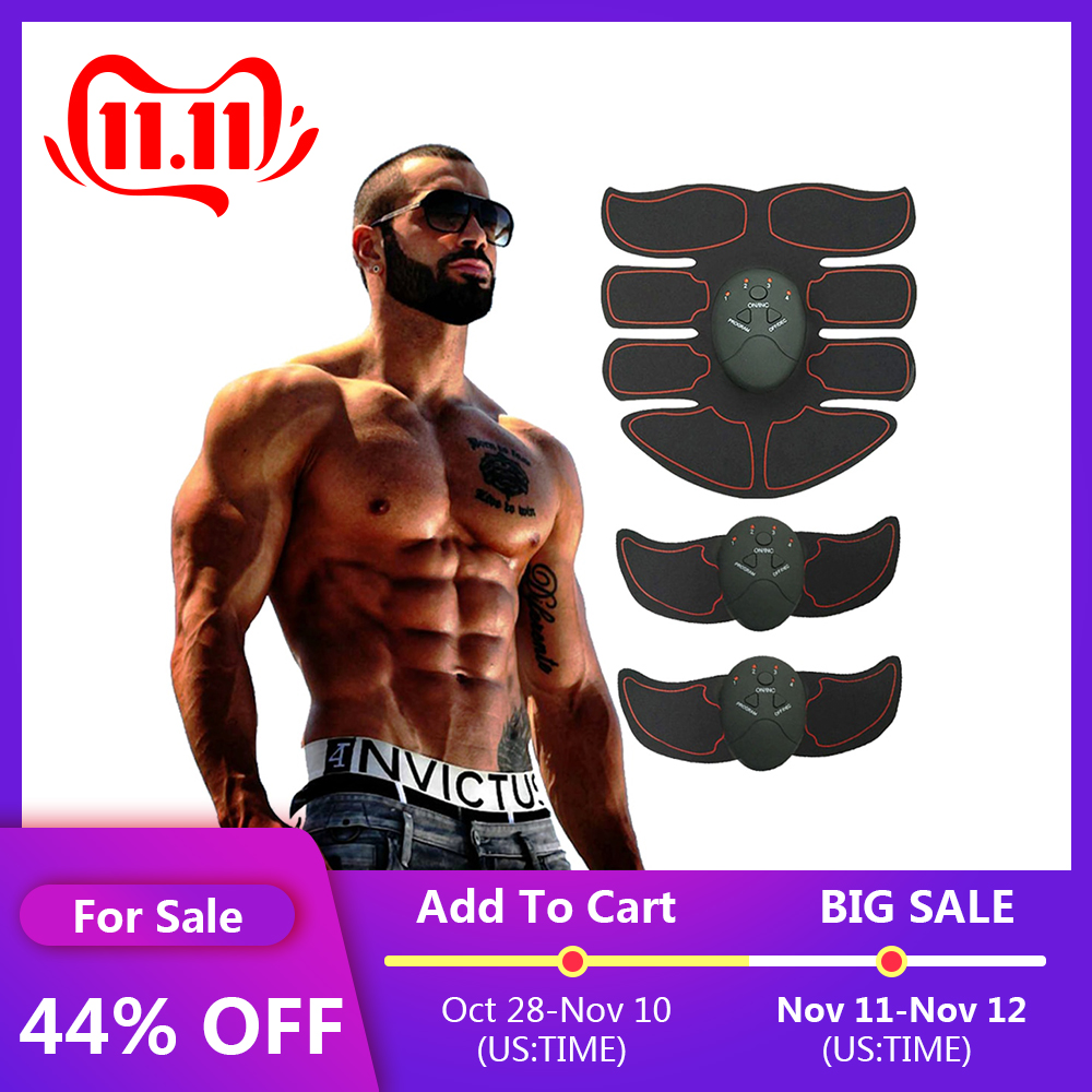Abdominal Muscle Trainer Vibrating Exercise Machine Home Gym Fitness Workout Equipment Body Slimming Fat Burning Exerciser