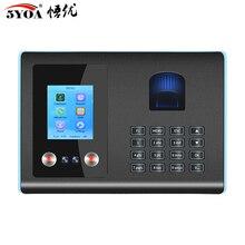 AF01 biométrica cara Facial Reconocimiento de huella digital tiempo asistencia sistema máquina dispositivo máquina
