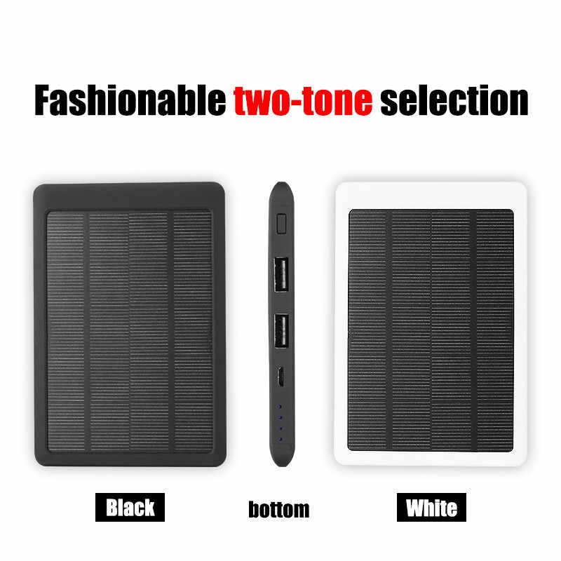 80000Mah Solar Power Bank Hoge Capaciteit Draagbare Telefoon Snelle Oplader Powerbank Solar Battery Panel Voor Xiaomi Samsung Iphone
