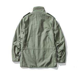 Image 2 - A.C.E. US Army The 1966 M65 Replica Field Trench Coat Camouflage Military Jacket Winter Long Outwear