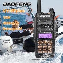 Baofeng UV-9R PLUS 10W 4800mAh High Power Walkie Talkie Waterproof 10KM Amateur Radio VHF UHF Handheld Marine Radio Station SDR