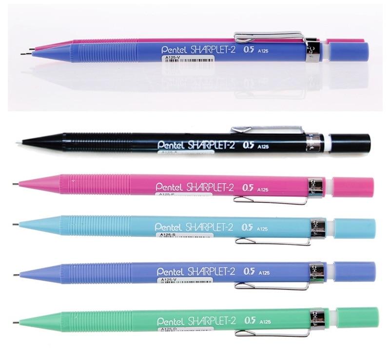 Pentel Sharplet-2 A125/127/129 механический карандаш menurut юбки карандаш движущихся 0,5 мм Япония 0,5/0,7/0,9 мм