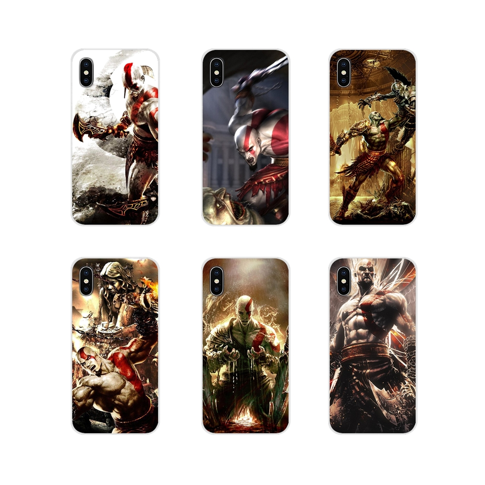 Accessories Phone Shell Covers Video Game God of War II For Samsung Galaxy A3 A5 A7 A9 A8 Star A6 Plus 2018 2015 2016 2017 image