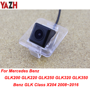 YAZH For Mercedes Benz GLK GLK200 GLK220 GLK250 GLK320 GLK350 GPS Radio HD CCD Reverse Parking Backup Camera Car RearView Camera image