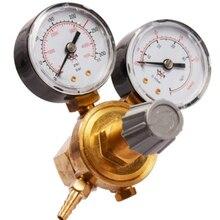 Argon CO2 Gas Cylinder Pressure Regulator MIG TIG Welding Flow Meter Pressure Gauge W21.8 1/4 Thread 0-20 Mpa Regulator