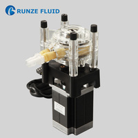 Detergent Dosing Peristaltic Infusion Pump for Laundry Washing Machine PWM Control Corrosion Resistance Stainless Steel Rollers
