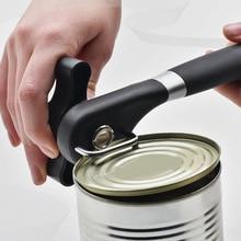 Nuevo abridor de latas con corte lateral de seguridad Manual de acero inoxidable multifunción