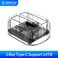 ORICO 2 Bay SATA to USB 3.1 HDD Docking Station For 2.5