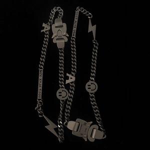 Image 3 - 1017 alyx 9sm relâmpago alyx herói corrente colar hip hop alyx rua acessórios smiley pérola colar