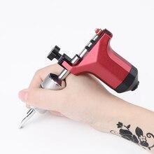Slong Tattoo Machine Rotary Adjustable Shader and Liner Gun RCA Motor Rotary Gun Tattoo Rotary Machine Liner Shader M645 juqi tm2005 snack style tattoo machine liner shader gun antique brass