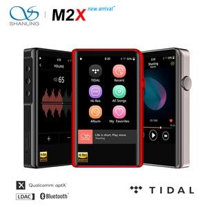 Image 1 - SHANLING M2X Hi Res AK4490 DAC USB DSD Wifi Bluetooth HIFI Music MP3 Player PCM 32/384 Touch Screen Type C