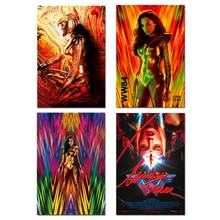 Wonder Woman 1984 Poster Movie 2 2020 New Comic Film Silk Art Prints Wall Decor Pictures(China)