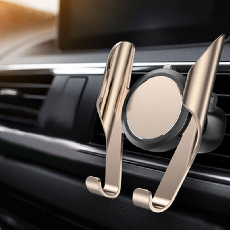 Универсальный автомобильный держатель для телефона с памятью, вращающийся на 360 градусов держатель для телефона, держатель на вентиляционн...
