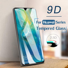 Tempered Glass Film 9D HD Surface Screen Protector For Huawei P 10 20 30 & P 10 20 30  Pro & Mate 20 Full Protective Glass Film full cover 9d tempered glass for huawei mate 30 pro mate 30 protective screen protector film