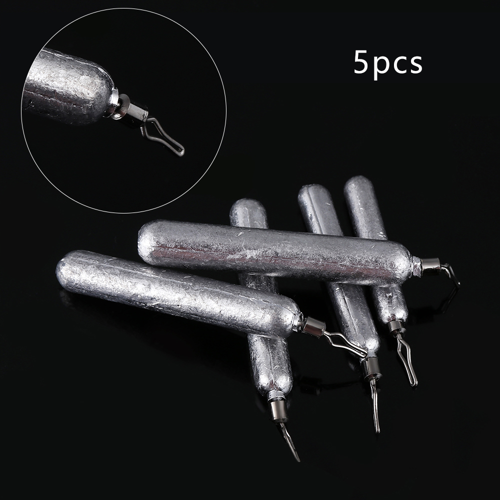 Drop Shot Weights Sinker Finesse Pencil Lead Pike Perch Chub Fishing Tackle;