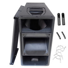 Finlemho DJ Speaker Q1 Cabinet Line Array Accessories 10in Woofer Bass Parts For Subwoofer Professional Audio Mixer Stage System(China)