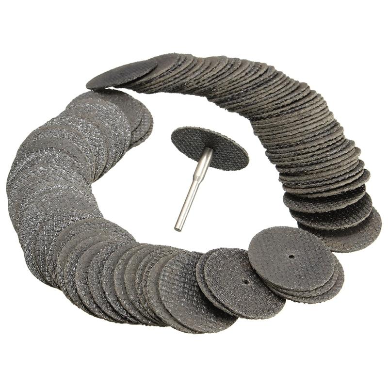 New 100Pcs 32mm Fiberglass Reinforced Cut Off Wheel Discs For FIT Rotary Tool