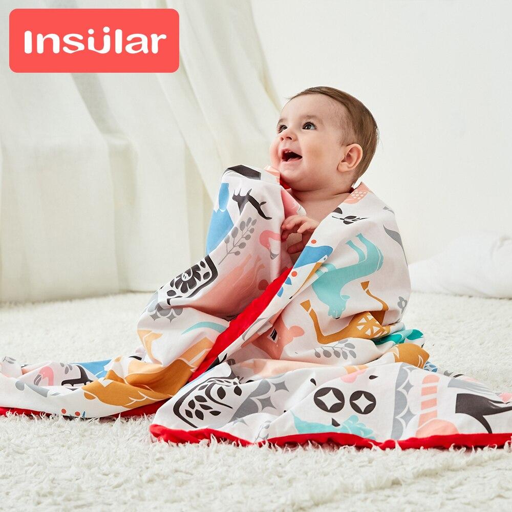 Newborn Baby Blanket Winter Cutton Soft Flannel Fleece Swaddle Toddler Knitted Bedding Blankets Stroller Wrap Cover For Children