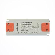 Constant Voltage LED Lighting Power Supply 220V to 12V 20W LED Driver Ultra Thin LED Light Transformer