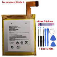 Batería Original 890mAh para Amazon Kindle 4 5 6 D01100 515-1058-01 MC-265360 S2011-001-S DR-A015 batería regalo herramientas + pegatinas
