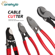 6''/8''/10'' Cable Cutter Crimping Pliers Cutting Electricial Wire Stripper For Electricians Multi Tool LK-22A/38A/60A Hand Tool lk 60a cutting pliers electricial wire stripper for electricians multi tool hand tools cable cutter