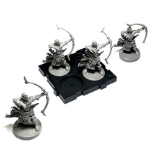 BIXE 4PCS  Wars Board Game Role Playing  Miniatures Resin Figures Hobby Collection bixe 3pcs miniatures wars board game figures role playing monsters model