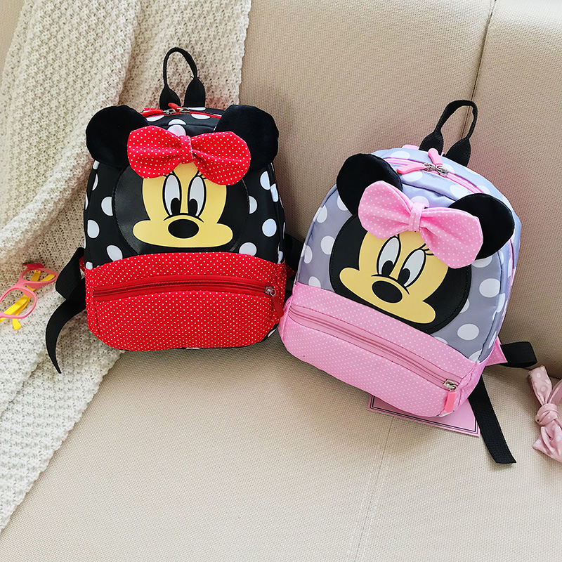 2019 Mickey&Minnie Children Backpacks Kindergarten Schoolbag Kids Backpack Children School Bags Baby Girls Boys Backpacks