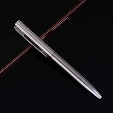 1 шт/лот мини металлическая шариковая ручка вращающаяся карманная