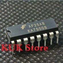 Real 100% Original NEW KA7500B DIP16 10PCS/LOT 100pcs lot ka7500b dip16 ka7500 dip new and original ic free shipping