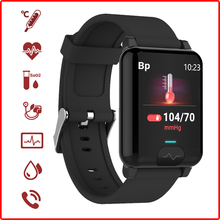 Oxygen-Monitoring Sports-Smartwatch Body-Temperature-Blood PPG Heart-Rate Waterproof