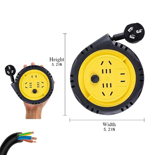 Extension cable with roller 3