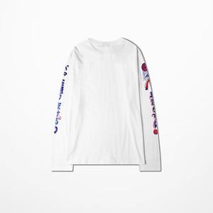 Image 3 - Kanye החוף המערבי T חולצה ארוך שרוול גברים היפ הופ גבוהה רחוב מואר כדי פופ Tane של הדפסת ויקינגים חולצה דרייק נשמות טי חולצה Homme
