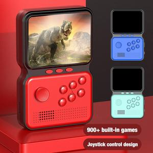 M3 Protable 3 Inch Mini Game Controller Handheld 16 Bit Retro Game Console Built-in 900+ Classic Games Rechargable Game Machine