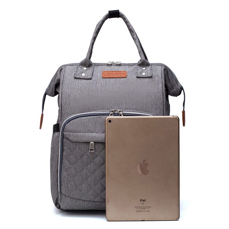 8 Colors Baby Diaper Bag Large Capacity Mommy Bag Waterproof Backpack Multifunction Travel Diaper Bag Baby Care Stroller Bags