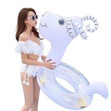 Надувное женское кольцо для плавания Китайский Зодиак животное