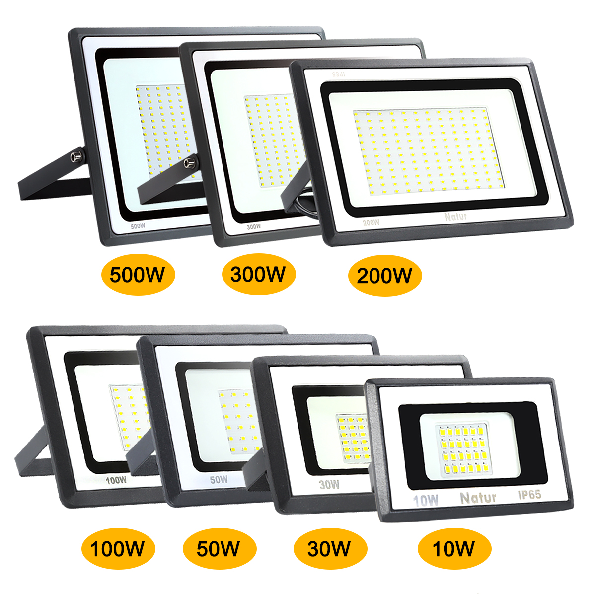 Led Spotlight 10W 20W 30W 50W 100W 150W 200W Flood Light Garden Lamp Spot Light Wall Washer Light Door Light Outdoor Reflector