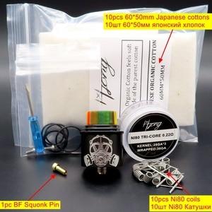 Image 5 - Vape 24mm Apocalypse GEN 2 RDA Atomizer Rebuildable Tank Squonk BF PIN Coil Vaporizer Electronic Cigarette Box Mods Kits