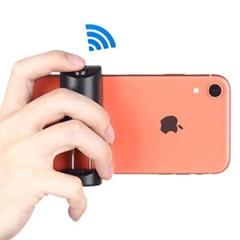 Yunteng Bluetooth Selfie Booster mango agarre Anti-vibración teléfono estabilizador titular con obturador remoto para iPhone Android
