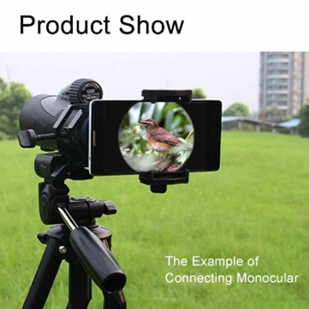 Portable CM-4 Microscope Adapter Clip Binocular Monocular Spotting Scopes Universal Mobile Phone Camera Adapter Holder