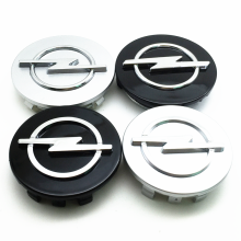 Caps Badge Center-Covers Rims 56mm Opel Silver 60mm Black 68mm 65mm Emblem-Accessories