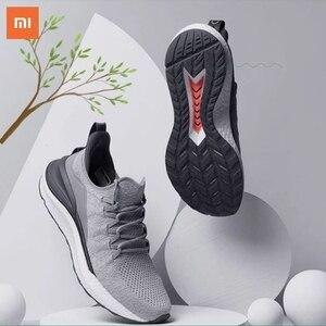 Image 5 - Original Xiaomi Mi Mijia Sports Shoes Sneaker 4 Outdoor Men Running Walking Lightweight Comfortable Breathable 4D Fly Wove Shoes