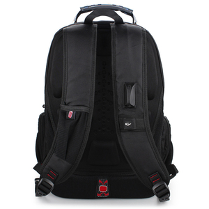 Image 5 - 2020 Hot Sale Mens Travel Bag Man Swiss Backpack Polyester Bags Waterproof Anti Theft Backpack Laptop Backpacks Men Brand bags