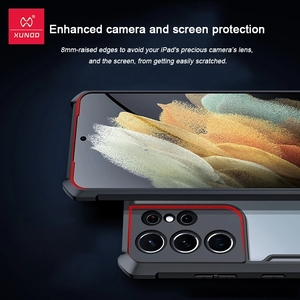 Image 5 - Xundd For Galaxy S21 Ultra Case Shockproof Airbag Soft Case For Samsung S21 Plus S21+ Case Protective Bumper Phone Cover