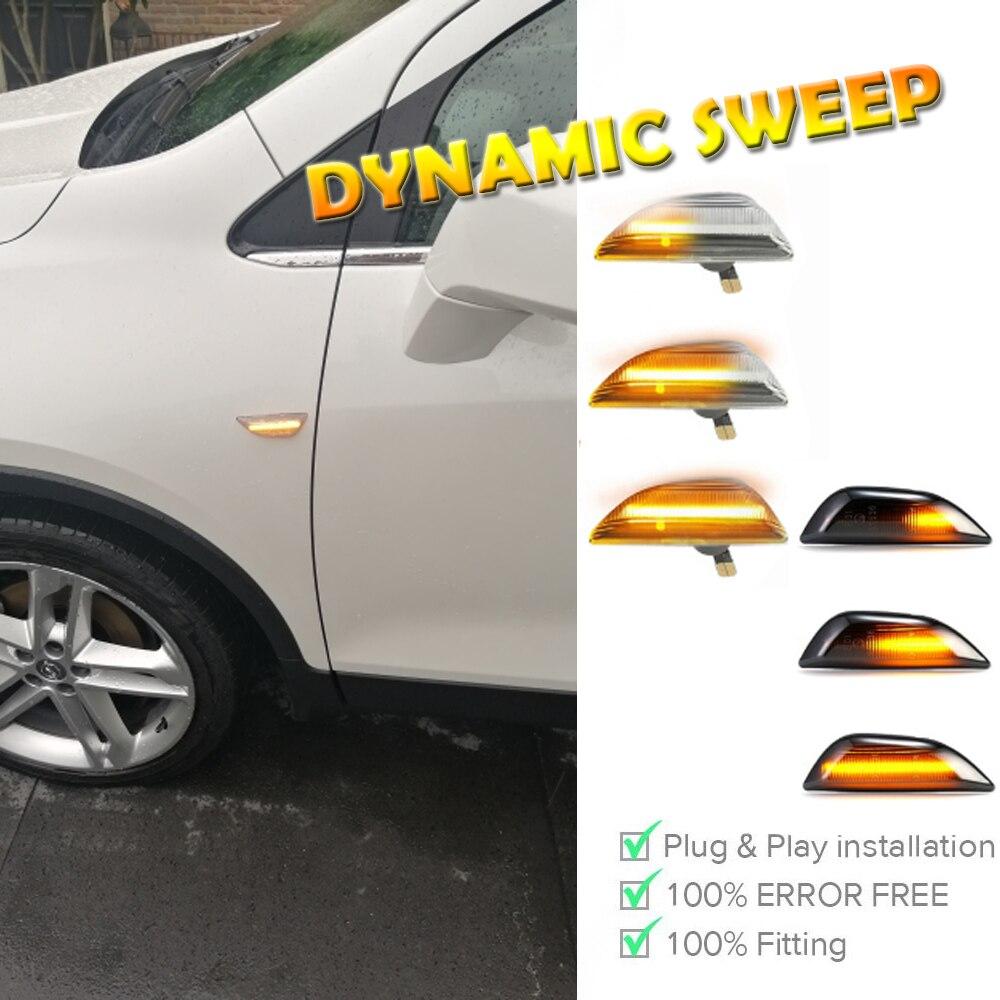 Автомобильный боковой маркер указатель поворота светодиодный